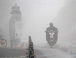 武汉出现大雾天气