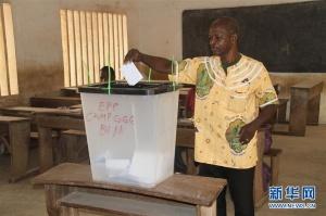 多哥举行总统选举