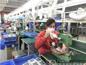 浦北县:企业有序复工 恢复生产活力
