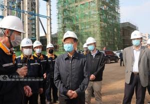 陳武在防城港、欽州檢查重大項目復工情況