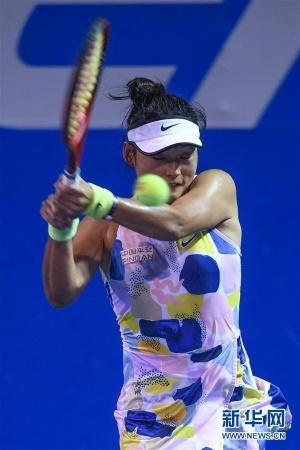 墨西哥网球公开赛:王雅繁无缘晋级