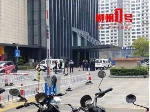 柳州一男子从16楼坠下身亡,具体原因仍在调查中