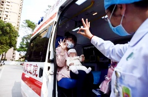 最大90歲,最小僅3個月!26日廣西又有一批患者出院