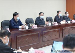 陈武调研众发娱乐平台下载万有国际旅游项目建设