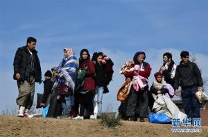 非法移民聚集土耳其欧盟边境
