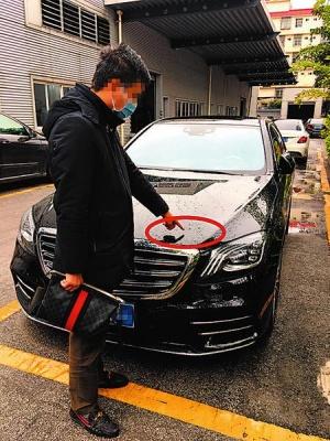 爱车送到4S店维修却多出几道划痕?车主质疑存猫腻