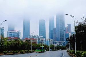 受暖湿气流影响广西有雾或回南天 最高温升至30℃