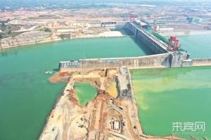 大藤峡工程一期3月10日下闸蓄水