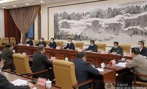 鹿心社主持召开自治区党委退役军人事务工作领导小组全体会议