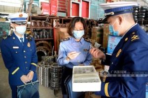 百色:多部门联合开展消防产品专项整治行动