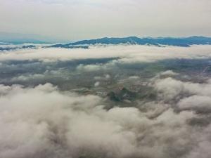 【高清组图】广西全州:雨后云雾美如画