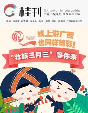 """【桂刊】线上游广西同样精彩!""""壮族三月三""""等你来"""