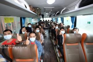 千里送岗助脱贫 三江23名货车驾驶员赴深圳上岗