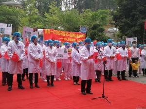 时隔66天的拥抱 广西妇幼首批支援武汉医疗队解除隔离