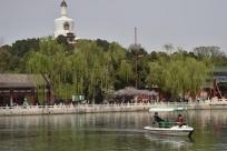 北京:北海公园游船有序开航