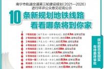 4月22日焦点图:10条线路或加入南宁地铁