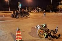 突发!柳州柳东新区街头,夫妻骑电动车被小车撞飞