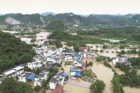 5月17日焦点图:暴雨袭来 广西启动Ⅲ级应急响应