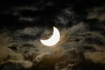日食现身天宇