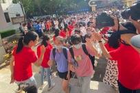 <b>高清图:冲刺吧,少年!直击2020广西高考第一天</b>