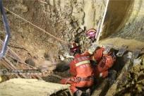�V西一工地在建基坑坍塌 4人被埋3人不幸遇�y(�D)