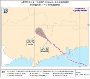 """注意!臺風""""海高斯""""已進入廣西,大風暴雨模式開啟"""