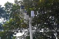 """9月19日焦点图:小区业主众筹摄像头抓""""高空抛物"""""""