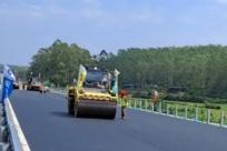广西这条高速公路建设正在冲刺 力争11月底通车