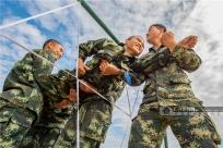 广西武警:锻炼心理素质帮助新兵健康成长