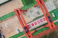 南寧至玉林高速鐵路開始架梁