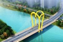 民生項目有重大進展 防城港文昌大橋工程主塔合龍