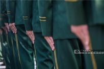 廣西來賓:武警來賓支隊歡迎新戰友下隊(組圖)
