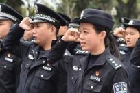 """广西南宁:与老民警共庆""""警察节"""""""