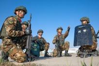 武警廣西總隊防城港支隊:戰術演練錘煉反恐尖兵