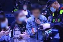 千警出擊 防城港抓獲100多名涉賭涉黃涉傳人員