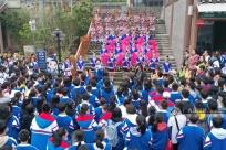 高清组图:千名师生走进三江 体验侗乡多彩风情