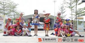 玉林福绵机场 :小学生唱响山歌赞玉林
