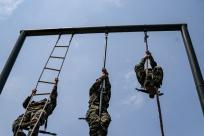 武警钦州支队开展主题练兵活动