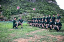 武警广西总队:新兵体能训练趣味多