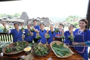 柳州三江:侗寨粽香迎端午(图)