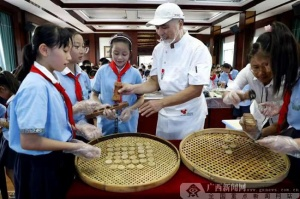 荔浦:非遗进校园 传承传统文化
