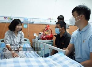 隆安女孩仅花86.17元在医院完成先心手术(图)