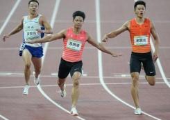 苏炳添夺得男子百米冠军