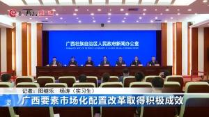 广西要素市场化配置改革取得积极成效