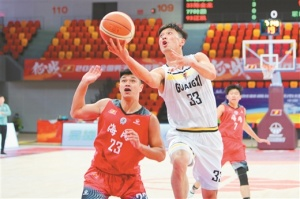 NBL第15轮战胜海南海象 广西威壮取得复赛四连胜