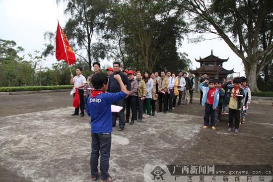 邕宁志愿服务队践行党的教育实践活动服务世锦赛