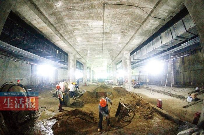 南宁地铁1号线最深站点啥样?平均开挖深度32.18米