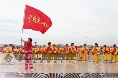 花山申遗成功极大鼓舞崇左市干部群众