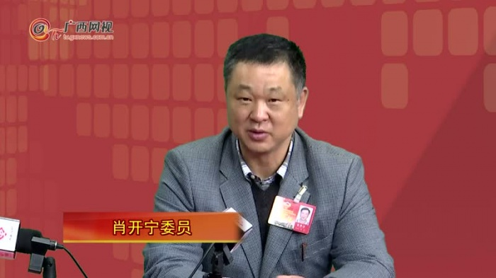 """肖开宁委员:让教育发展服务好广西""""两个建成"""""""