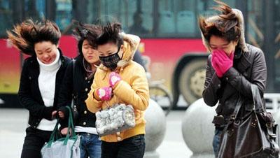 新一股冷空气将影响中国中东部大部 局地降温8℃